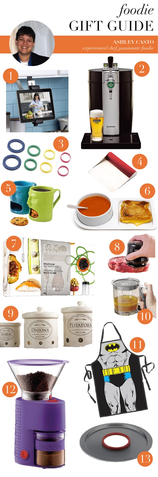 foodie gift guide (via Holly Would)