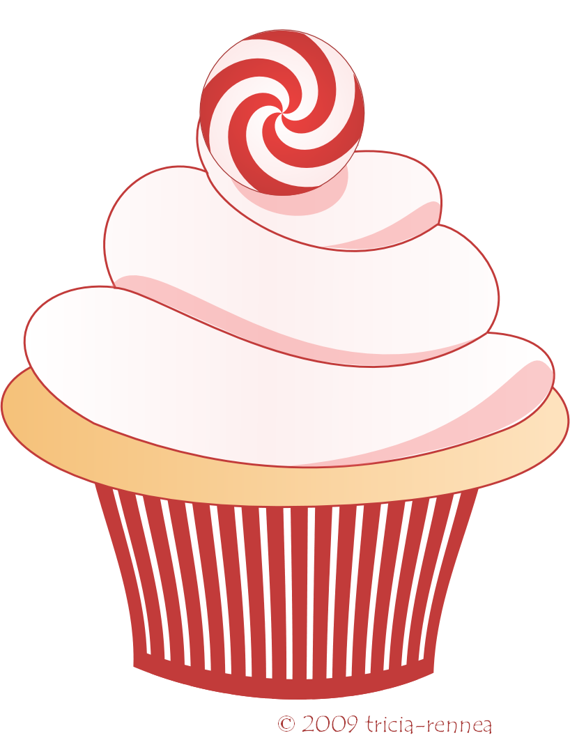 Cupcake Clipart Png Christmas Cupcake Clipart