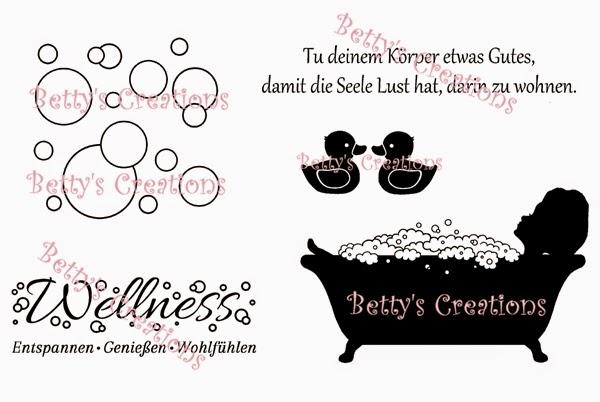 Wellness schriftzug  Bettys-creations: Vorschau: Wellness