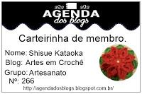 nova carterinha da agenda dos blogs