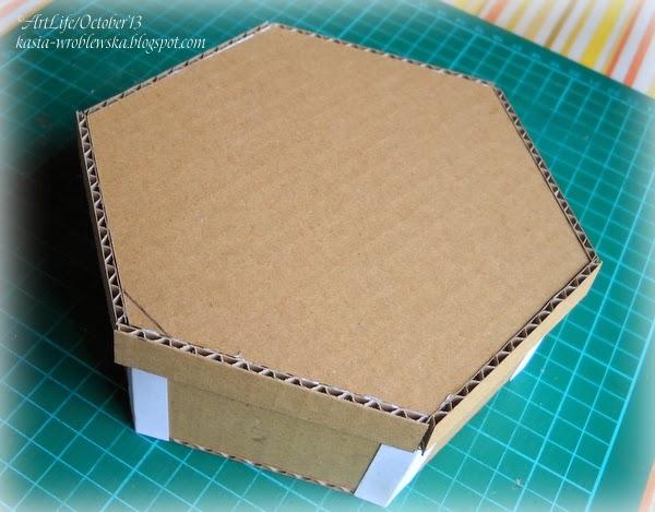 Коробка из микрогофрокартона своими руками 6
