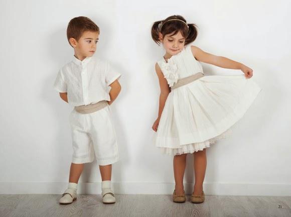 ¿Cómo vestir a los niños en las bodas?