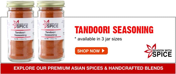 buy best tandoori seasoning blend at SeasonWithSpice.com asian spice shop