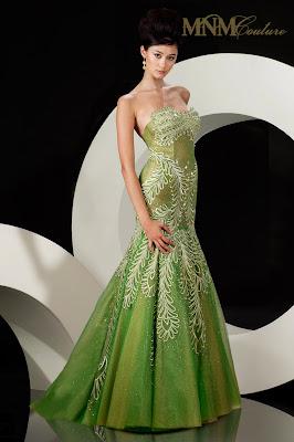 abendkleid dunkelgrün - grüne kleider