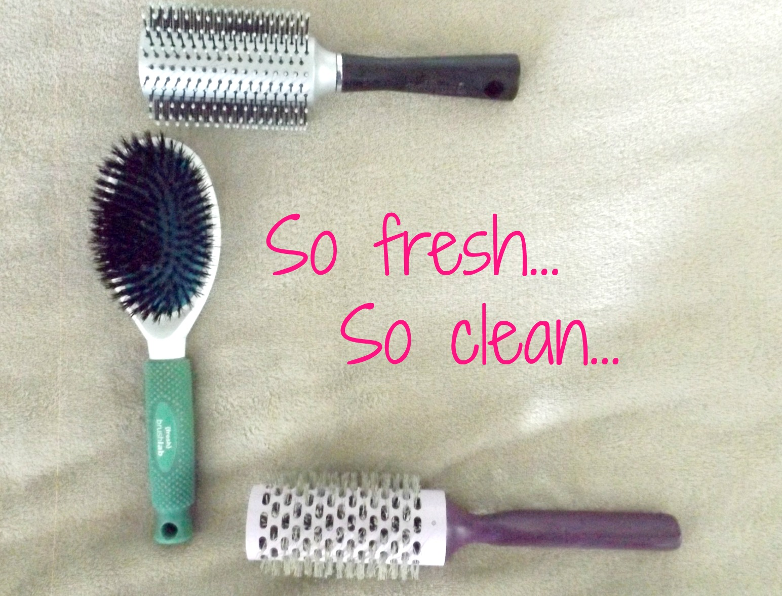 How to clean your hairbrushes