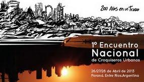 Primer Encuentro Nacional de Croquiseros Urbanos
