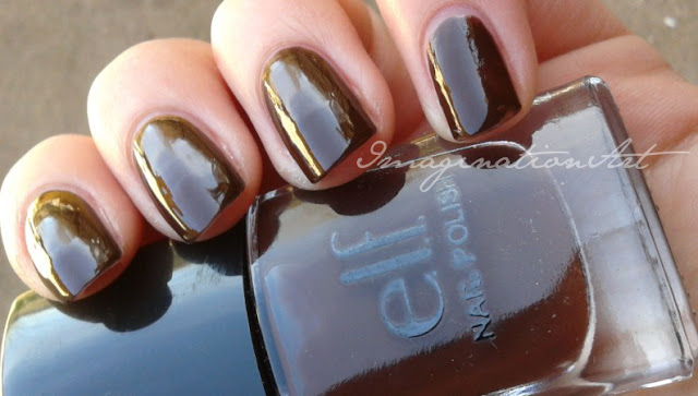elf chocolate review swatch swatches recensione smalto unghie nail polish lacquer