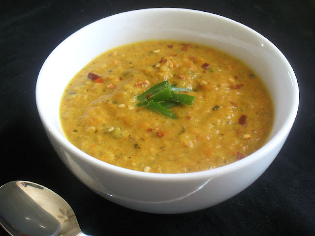 how to make vegetable soup at home indian style