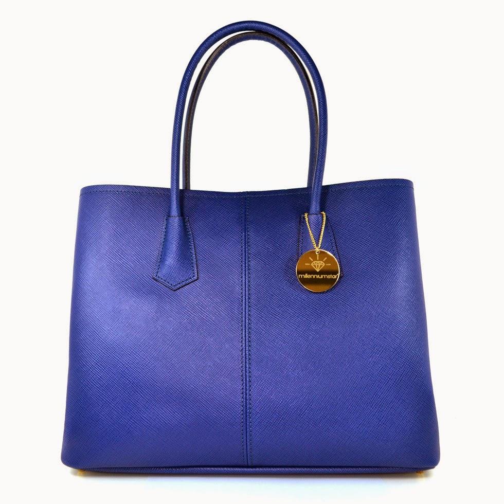 Charlize borsa da donna blu