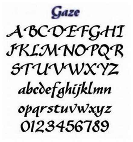 Free Printable Letter Stencils Font