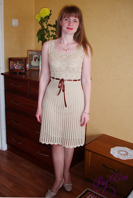 http://www.ravelry.com/patterns/library/chanel-style-dress