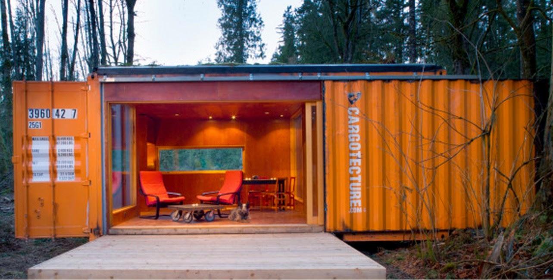 S arquitetura e planejamento casas container for Container casa