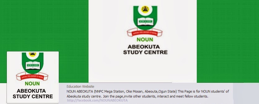 NATIONAL OPEN UNIVERSITY of NIGERIA, Abeokuta Study Centre.