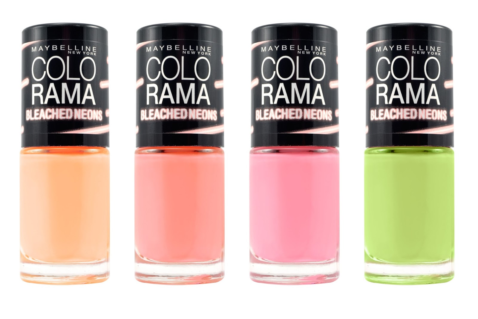 Review: ColoRAMA Bleashed neons nail polish
