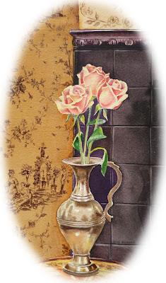Still Life Brace Vase