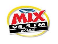 ouvir a Rádio Mix FM 95,5 ao vivo e online Bombinhas