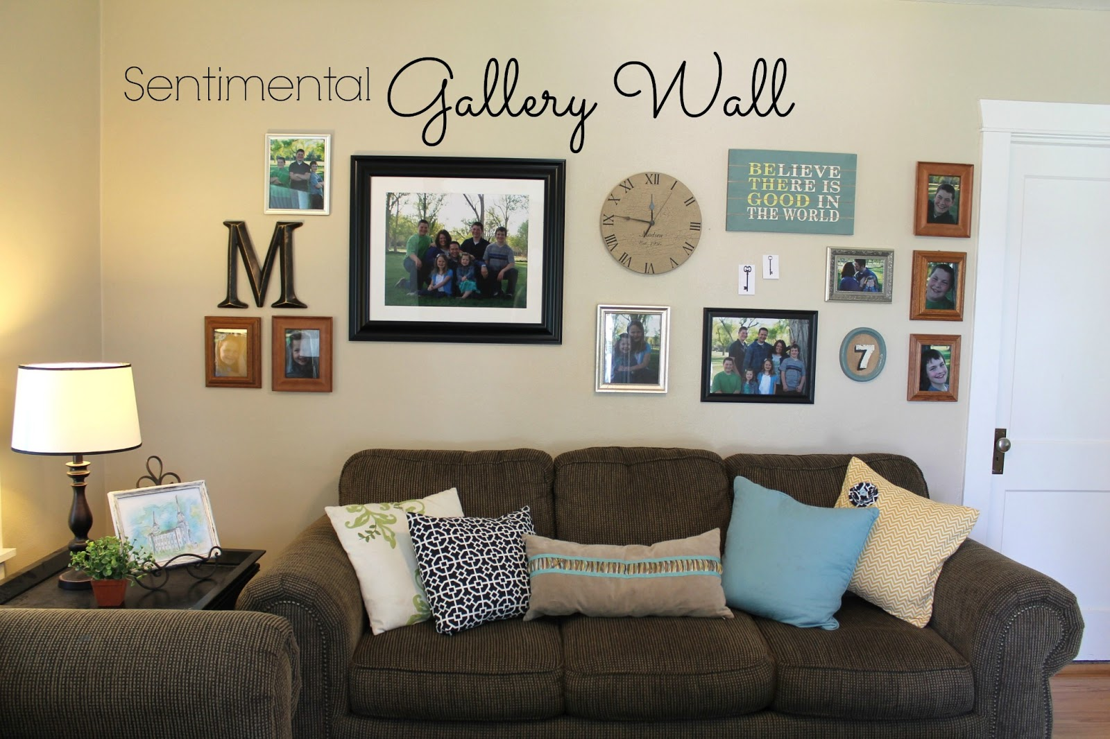 Living Room Gallery Wall Home Designs
