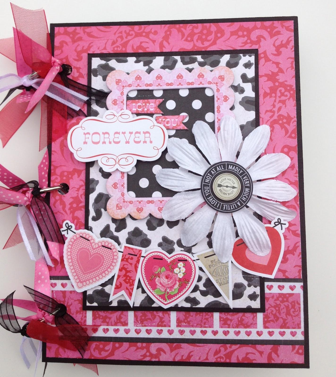 Scrapbook ideas and designs - Thursday February 14 2013
