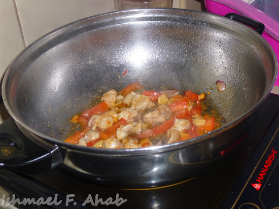 Cooking ginataang kalabasa