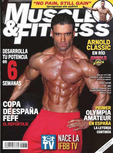 Muscle & Fitness - 383 - Julio 2015 -