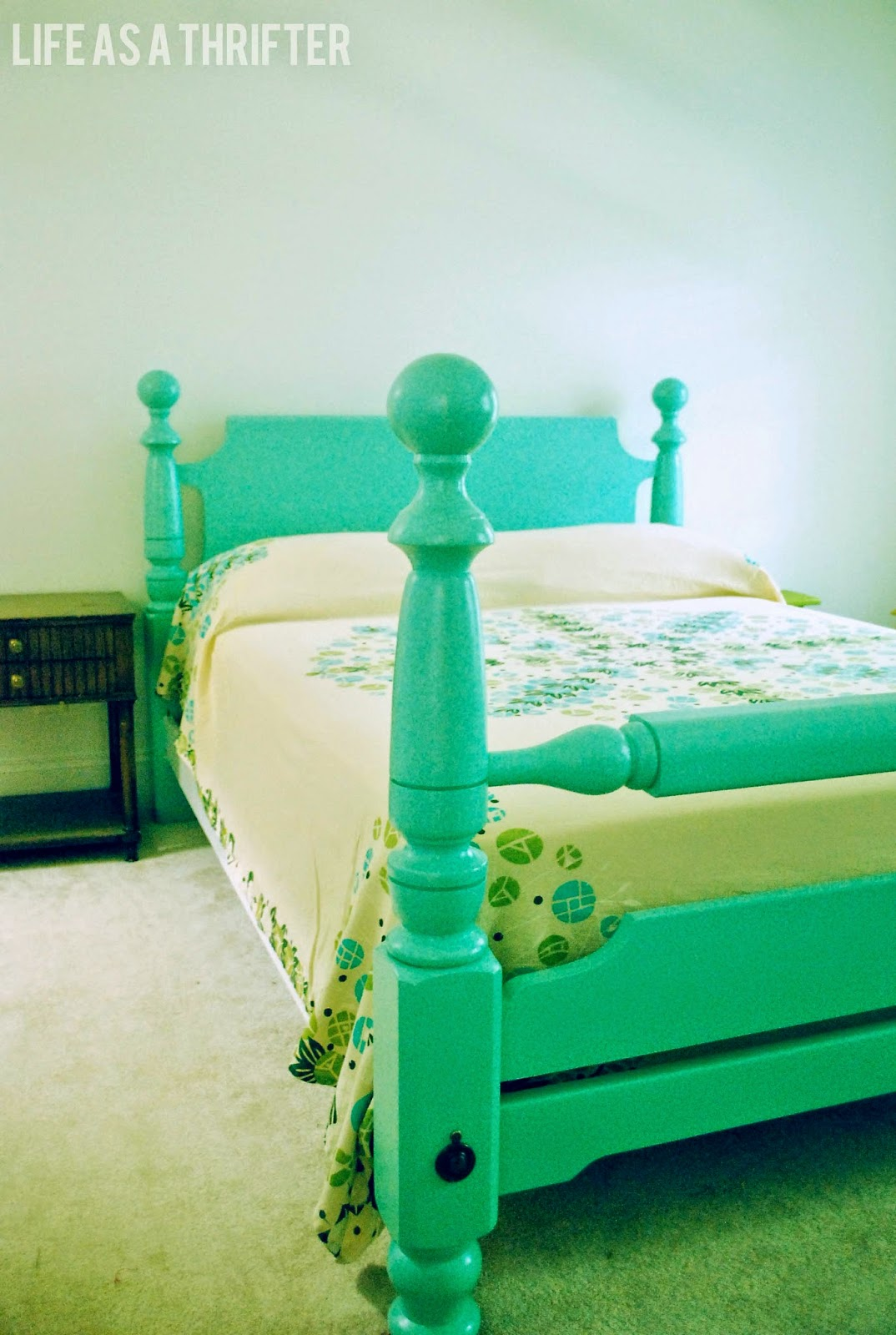 Life as a Thrifter: Cannonball Bed REDO