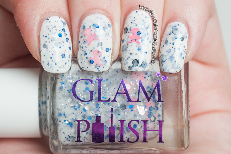 Glam Polish What's In-die Box Corpse Bride swatch