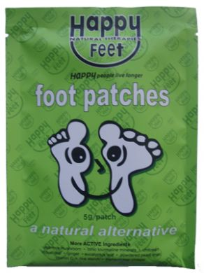 Detox Through the Feet http://www.aprettywardrobe.com/2012/02/happy-feet-detox-patches.html
