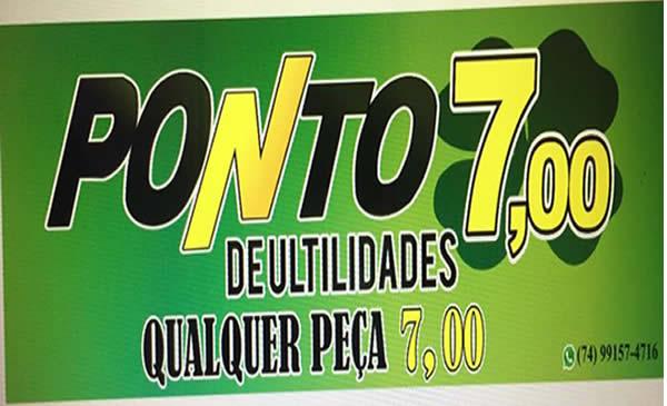 PONTO 7,00