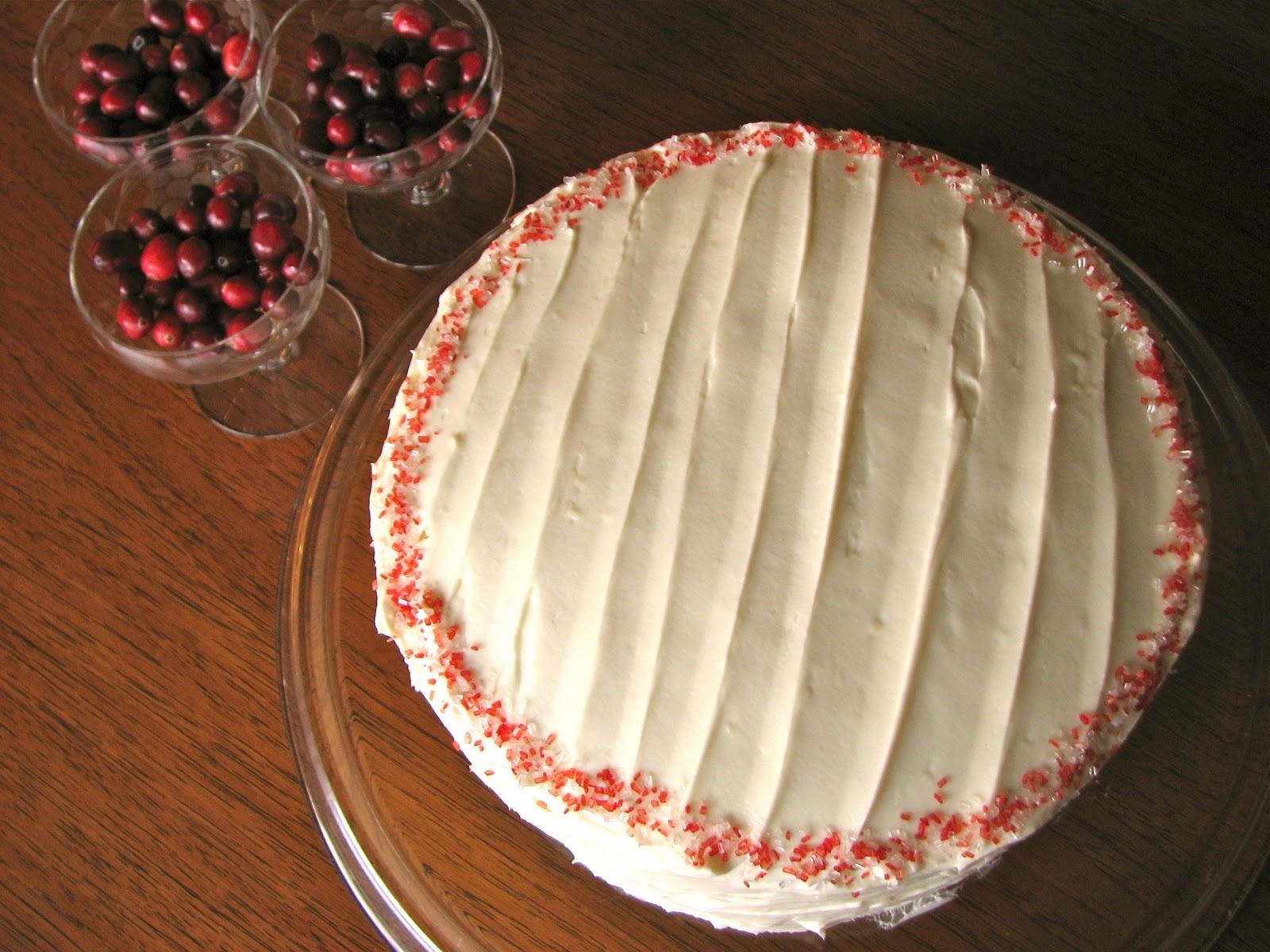 Delectably Mine: Red Velvet Cheesecake Cake