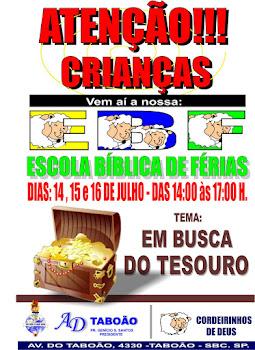 EBF EM BUSCA DO TESOURO