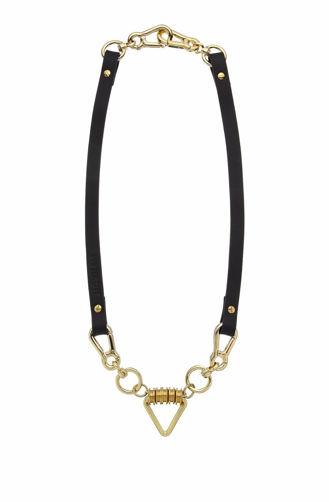 moxham arrow necklace