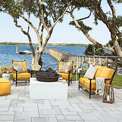 Coastal Living Showcase Home Outdoor Seating area