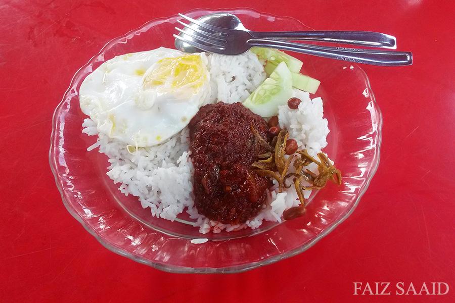 tabung haji nasi lemak