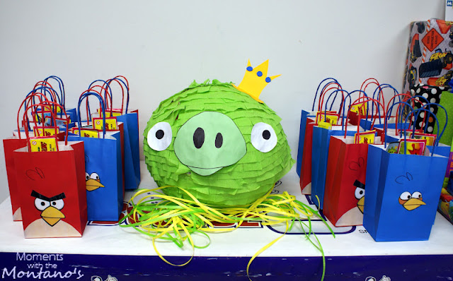 Be different act normal diy angry bird party ideas for Angry birds birthday party decoration ideas