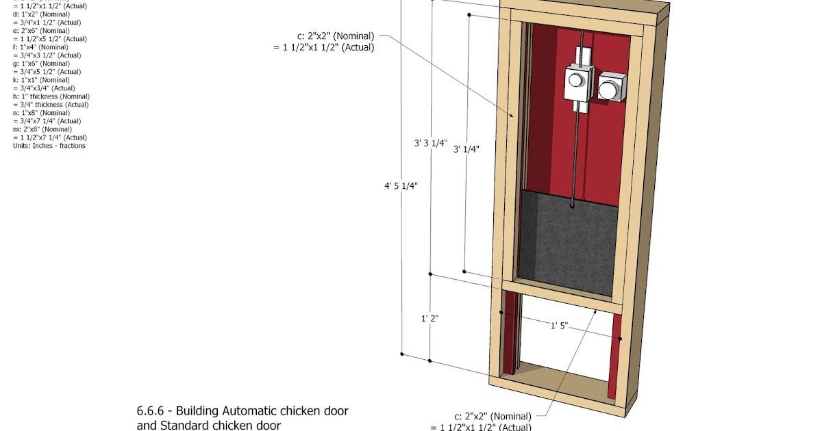 Automatic chicken coop door diy chicken coop for D20 chicken coop motor door