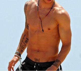 Tatuajes de Sergio Ramos