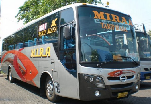 Jadwal Keberengkatan Bus Mira Surbaya ~ Yogyakarta