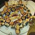 أشكال من حلويات اللوز روعة