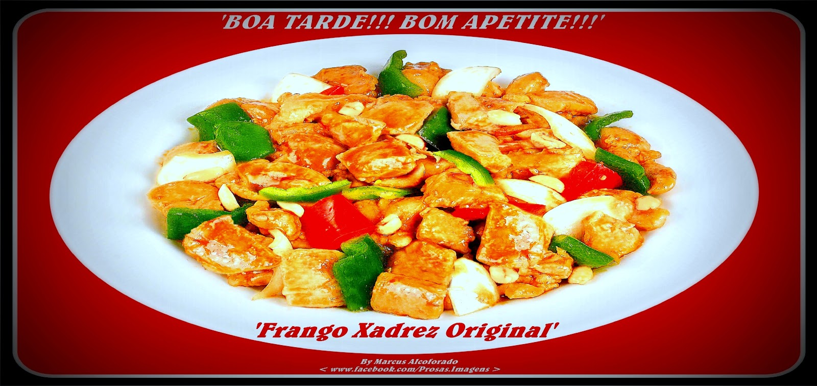 Frango Xadrez Original China