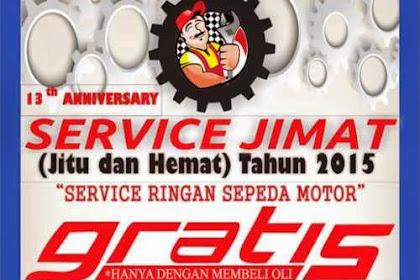 Service Motor Gratis oleh Mahasiswa FT Unnes