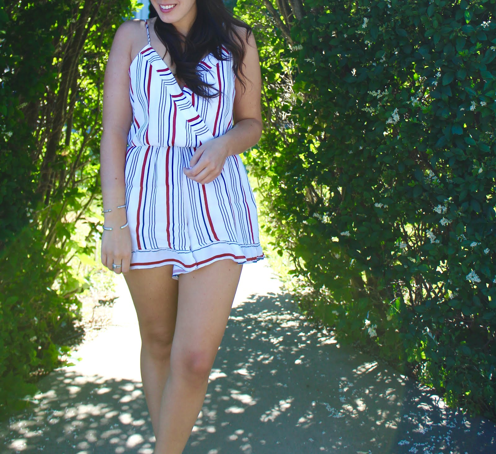 Collection Red White And Blue Romper Pictures - Blackfashionexpo