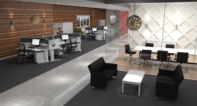 Open Plan Office Design Ideas Office Furniture Malaysia