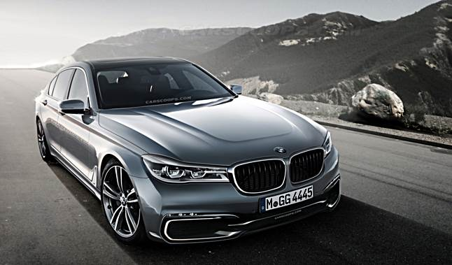 2017 bmw m7 rendering auto bmw review. Black Bedroom Furniture Sets. Home Design Ideas