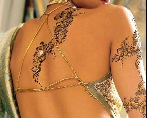 mehendi tattoo for indian bridal gifts toy. Black Bedroom Furniture Sets. Home Design Ideas