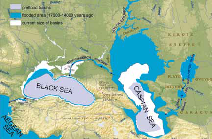 Caspian/black sea changes