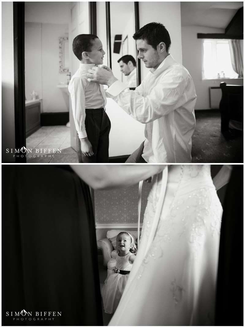 Clearwell Castle wedding preparations