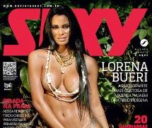 Lorena Bueri Revista Sexy