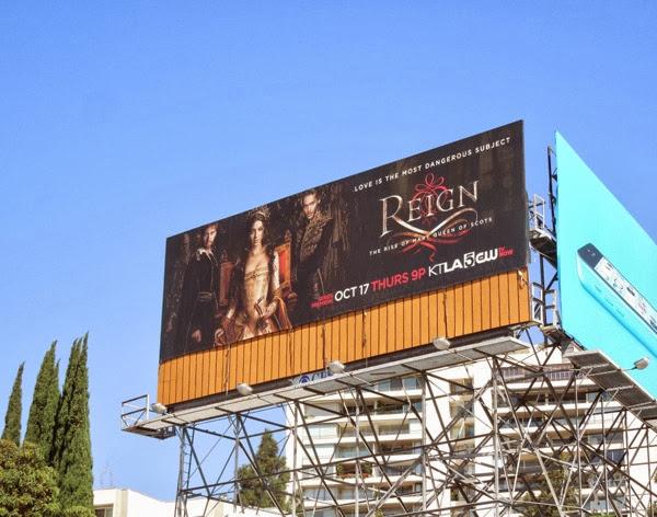 Reign series premiere billboard