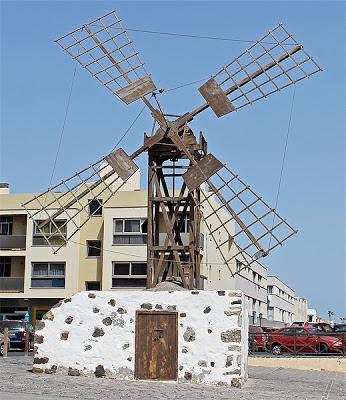Windmill in Coralejo Fuerteventura