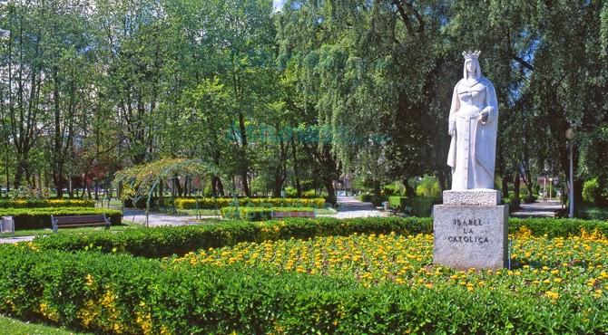El Parque de Isabel la Católica en Gijón